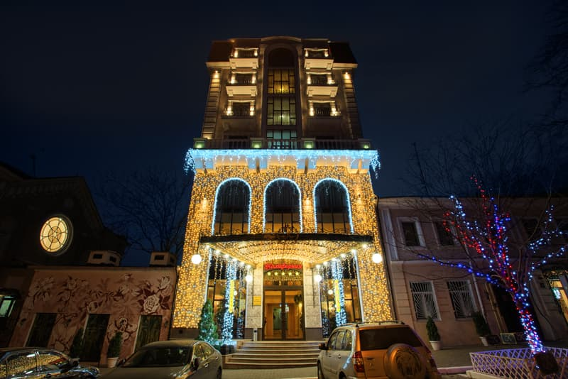 California Hotel in Odessa on New Year's Eve